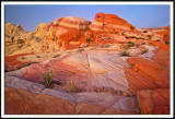 Colorful Sandstone Formation