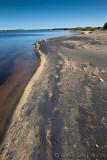 Sur la plage d'Aguanish