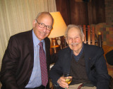 The son, Jim, with fellow economist, Dan