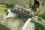 Bridge abutment prep work