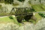 Green & bridge in place