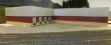 Building so far in place on the layout.  It's shaping up!