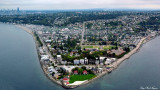 Alki Lighthouse and Alki, West Seattle
