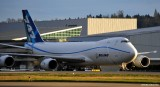 Boeing 747-8F returned from test flight
