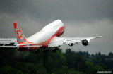 BOEING 747-8i perfect airflows