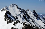 West Peak on Mount Anderson, Olympic Mountain