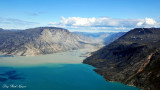 harsh landscape around Sondrestrom Fjord Greenland