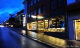 shops on Austturstraeli Reykjavik  Iceland