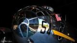B-29 and US flag