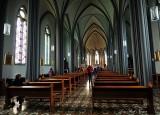 Reykjavik catholic church interior