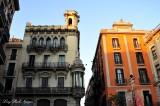 buildings around La Rambla