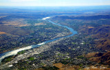 City of Wenatchee and Columbia river