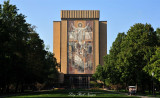 Touchdown Jesus, Library University of Notre Dame