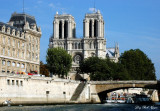 Notre Dame and Seine