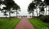 Path to Omaha Beach, Normandy American Cemetery