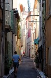 alley in Antibes