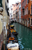 Gondolas and small canal