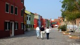 walking around Burano
