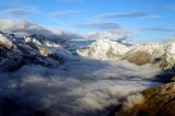 around part of the Alps