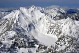 Silver Lake and Silvertip Peak, North Cascades