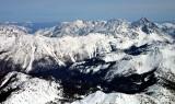Jack Ridge and Mount Stuart and Stuart Range, Eastern Cascade Mountains