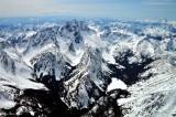 Mount Stuart, Stuart Glacier, Ice Cliff Glacier, Sherpa Glacier