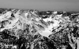 Chair Peak, Wright Mountain, Snow Lake