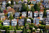 Houses on Queen Anne, Seattle