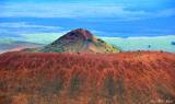 Old cinder cone, Mauna Kea Volcano, Hawaii