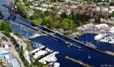 Hiram M Chittenden Locks and Carl S English Jr Botanical Garden, Ballard, Seattle
