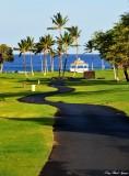 path to beach, Fairmont Orchid, Pauoa Bay, Hawaii