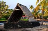 ancient Hawaiian canoe hut, Mauna Lani Resort, Hawaii