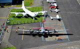 B-17G Aluminum Overcast, B-29, Museum of Flight, Boeing Field, Seattle
