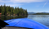 Cruising Priest Lake, Kodiak Seaplane, Priest lake, Idaho