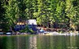rustic cabin, Priest Lake, Idaho