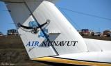 Air Nunavut KingAir, Iqaluit Airport, Nunavut, Baffin Island, Canada