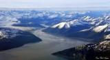 Taku Inlet and River,  aku Glacier, Tongrass National Forest, Alaska