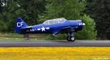 N154CF, SNJ-5, Friday Harbor Fly-In, Washington