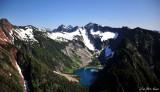 Big Four Mtn, Sperry Peak, Vesper Peak,Little Chief Peak, Copper Lake, Cascade Mountain,Washington