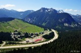 Snoqualmie Summit Ski Area, Snoqualmie Pass, Interstate 90, Denny Mountain, Cascade Mountains, Washington