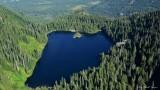 Loch Katrine, Twin Peaks, Cascade Mountains, Washington