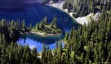 Frances Lake, Cascade Mountains