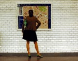 lady in the metro