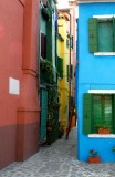 alley on Burano