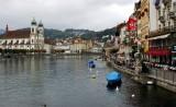 Luzern and Reuss River