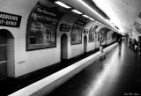 Metro at night-Strasbourgh Saint-Denis