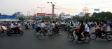 traffics at Ben Thanh circle