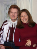 Aunt Ruth and Katy 2004