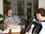Aunt Ruth & Mark Jammin' at Home