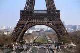The Eiffel Tower is a popular spot. . .